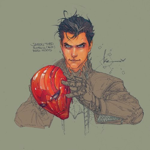 thenewgoshdarnrobin:  ART BY KENNETH ROCAFORT