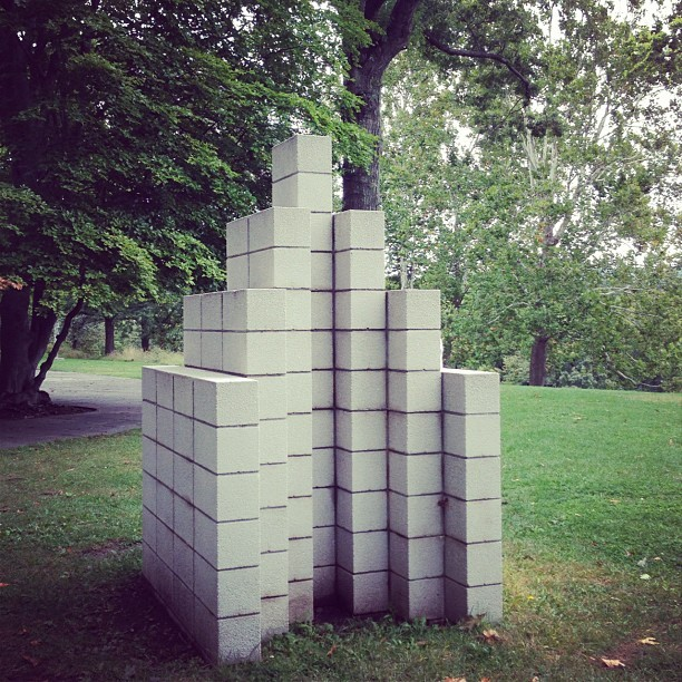 Sol Lewitt (Taken with Instagram at Storm King Art Center)
