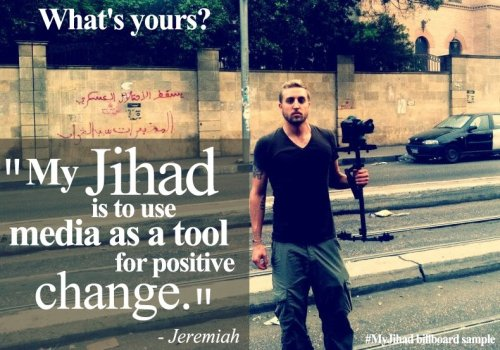 Taking back Jihad one hashtag at a time from anti-Muslim and Muslim extremists.   Donate to bus/train ads at www.myjihad.org