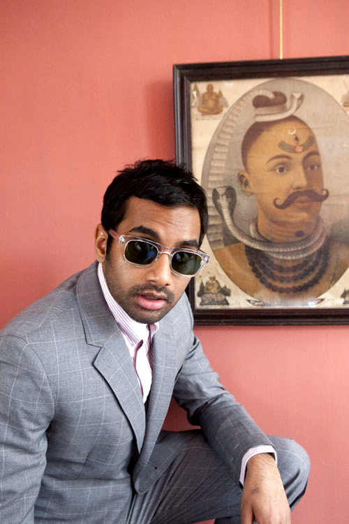 Aziz Ansari photograohed by Katherine Wolkoff, 2011  stop being the perfect man. you're too beautiful