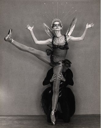 Tanaquil LeClercq in Metamorphosis by George Platt Lynes, 1953