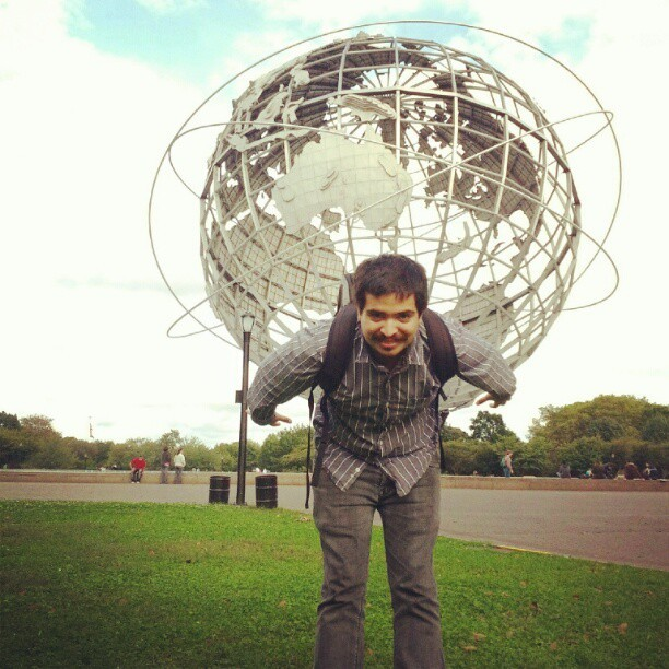 I carry home wherever I go… #queens #globe #flushingmeadows (Taken with Instagram at Flushing Meadows-Corona Park)