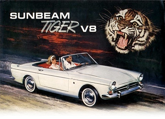 Tiger… Sunbeam brochure cover