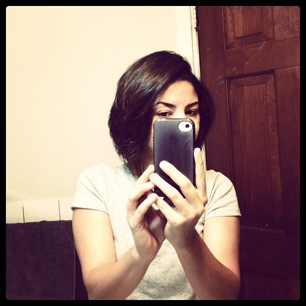 Big haircut (Taken with Instagram)