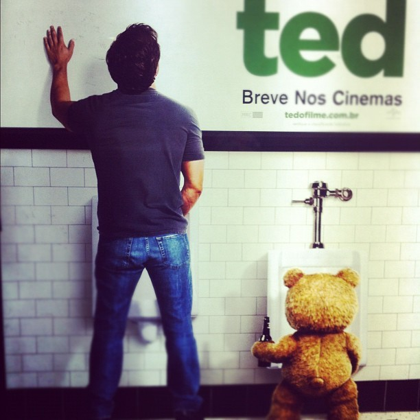 Ted #best #movie #ever (Publicado com o Instagram)