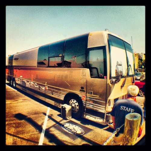 The Fluffy bus just rolled into Waterbury CT. It's gonna be a party tonight!! :) (Taken with Instagram)