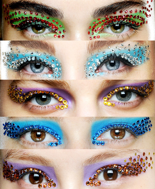 Makeup at Christian Dior Spring/Summer 2013
