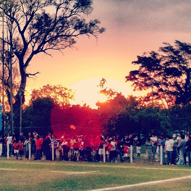 #sunset #asuncion #paraguay  (Taken with Instagram at C.U.R.D.A)