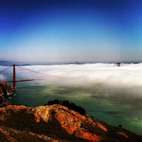 Another sunny ride in SF… sort of.  (Taken with Instagram)