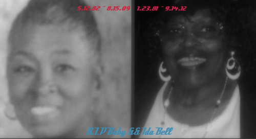 These 2 Women Right Here Were A BIG Part Of My Life ! && Now That I Dont Have Either One I Really Dont Know What Too Do !  Mariah Carey - One Sweet Day  sorry i never told you all i wanted to say && now it's too late to hold you cause you've flown away so far away NEVER HAD I IMAGINED LIVING LIFE WITHOUT YOUR SMILE feeling and knowing you hear me it keeps me alive&& I KNOW YOU'RE SHINING DOWN ON ME FROM HEAVEN LIKE SO MANY FRIENDS WE'VE LOST ALONG THEE WAY && I KNOW EVENTUALLY WE'LL BE TOGETHER ONE SWEET DAYdarling i never showed you assumed you'd always be there i took your presence for granted but i always cared && I MISS THEE LOVE WE SHARED :'( # R.I.P Too BOTH My Great Grandmothers ( BABY && IDA BELL ) # MISSING YOU GUYS MORE && MORE EACH DAY