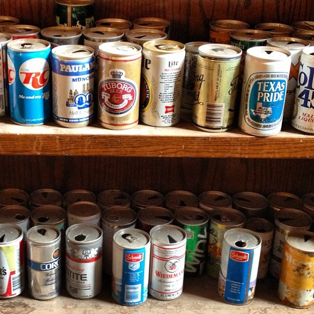 #beer cans #minneapolis  (Taken with Instagram)