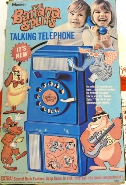 The Banana Splits Talking Telephone, 1970.