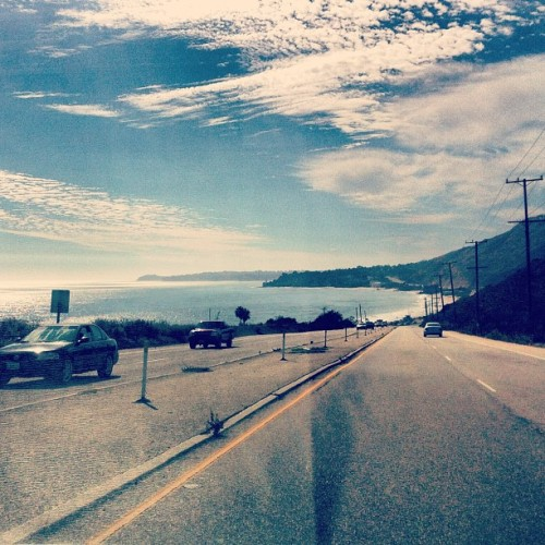 Driving along the PCH…