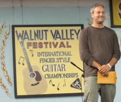 Glenn Roth - Top 5 Finalist in Walnut Valley Festival's International Fingerstyle Guitar Competition
