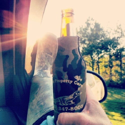 Cold beer, back roading, fishing! #Coldbeer #fishing #driving #backroading #goodtimes  (Taken with Instagram)