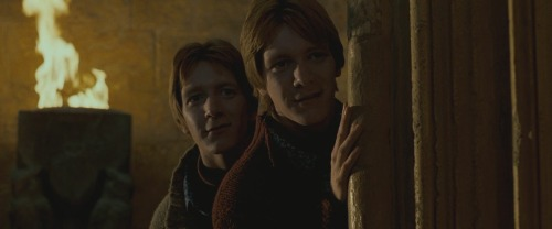 gryffindor-twins:  Fred and George