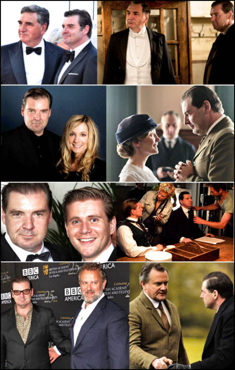 everyonelovesavalet:  Brendan Coyle Mr Bates + Everyone