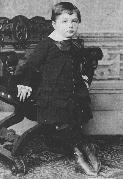theoddmentemporium:  Albert Einstein 1880s.
