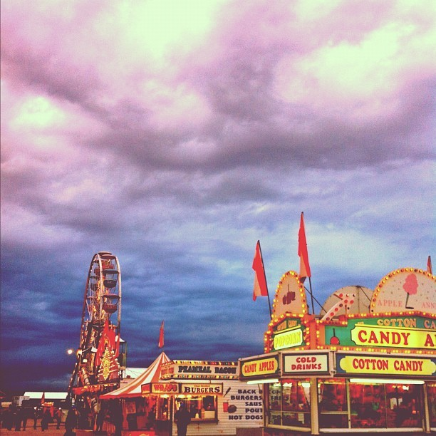 Barrie fall fair. 🍁 (Taken with Instagram)