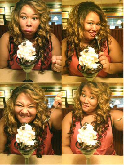 marfmellow:  why can't I be a dessert model?   The always inspiring, witty, beautiful marfmellow As A dessert model!