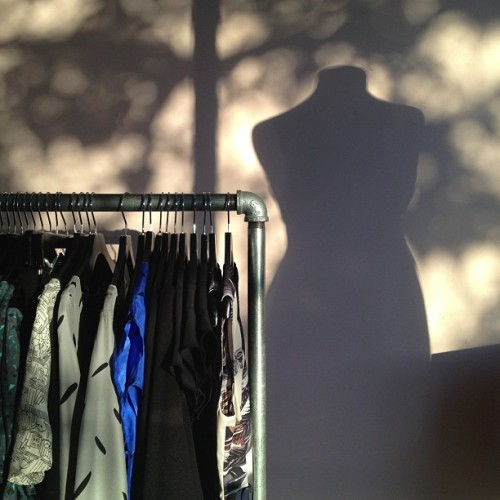 Shadow mannequin #nofilter (Taken with Instagram)