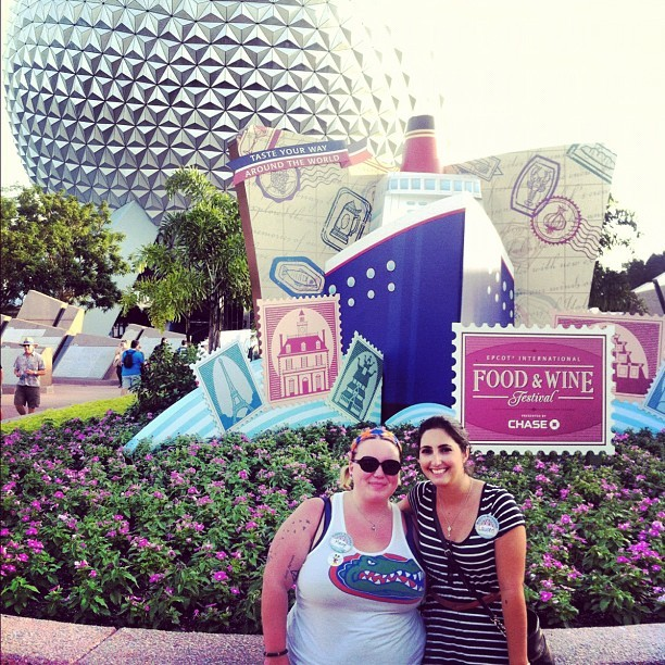 Soulmates #YOCO #BOLO #CHEESE (Taken with Instagram at Epcot)