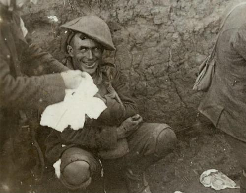 Shell-shocked Soldier, WWI.