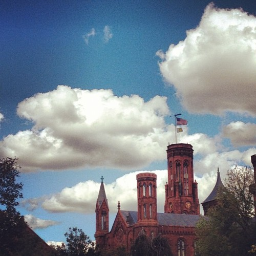 Not Disneyland.  (Taken with Instagram at Smithsonian Institution Building (The Castle))