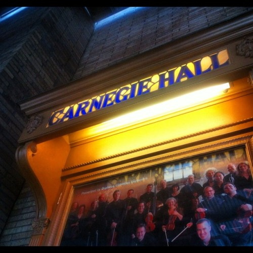 Not really sure how to get here, exactly. #carnegiehall #nyc #igers #iphone #instahub  (Taken with Instagram)