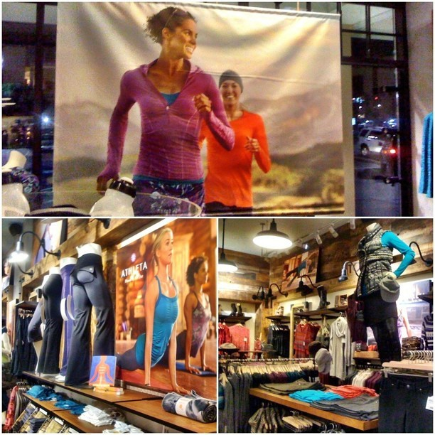 @athleta at Towson picking up some fresh gear…fab models Drisana and Lauren #yoga #fitness #Athleta #apparel #tumblr #instagood #igers #gear #fashion #style #run  (Taken with Instagram)
