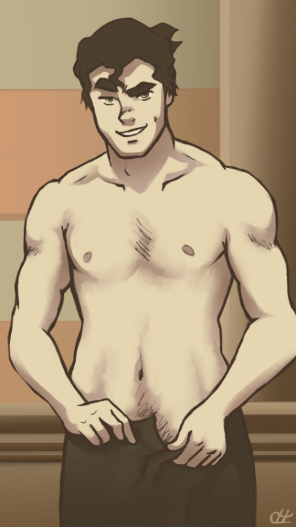 hypercrabby:  Fan Service Bolin by ~hypercrabby Let's all take a moment and appreciate how gorgeous Bolin is. Because it's true. He so is.