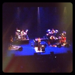 Welcome back @mgardot Beautiful show tonight. What a way 2 celebrate 5yrs w my wonderful wife! (Taken with Instagram)