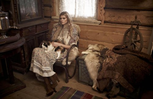 Maryna Linchuk by Mariano Vivanco, Vogue Russia