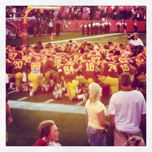 #TGBTG #cyclonepride #cyclonefootball  (Taken with Instagram)