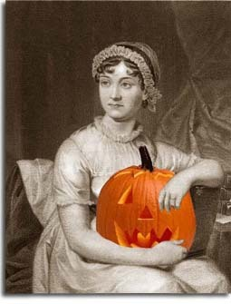 kendrasmommy:  Jane Austen with Pumpkin