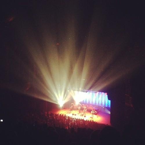 The Avett Brothers (Taken with Instagram at Fabulous Fox Theatre)