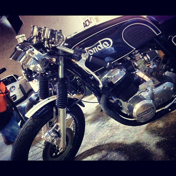#nurotag #honda #caferacer  (Taken with Instagram)