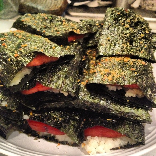 King musubi. (Taken with Instagram)