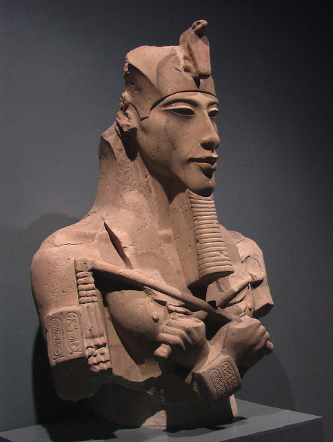 anthropologyyy:  Amenhotep IV - Akhenaten Museum of Ancient Egyptian Art Luxor