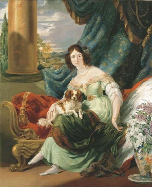Portrait of Charlotte, Countess de la Bourdonnaye by George Hayter, 1830 Paris