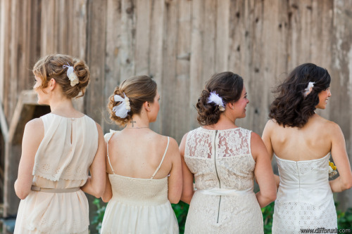 Fantastic bridesmaids hair by The Makeup Dolls