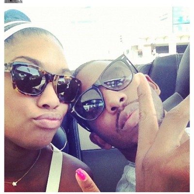 "L.A. Clippers star Chris Paul: "" lunch date with the Mrs……"" [Via Instagram]"