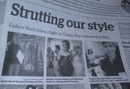 ourlastdaysaschildren:  Me and the best friend were in the Tampa Bay Times! Local Celebrities? Why not. Almost famous? Basically.  Struttttt