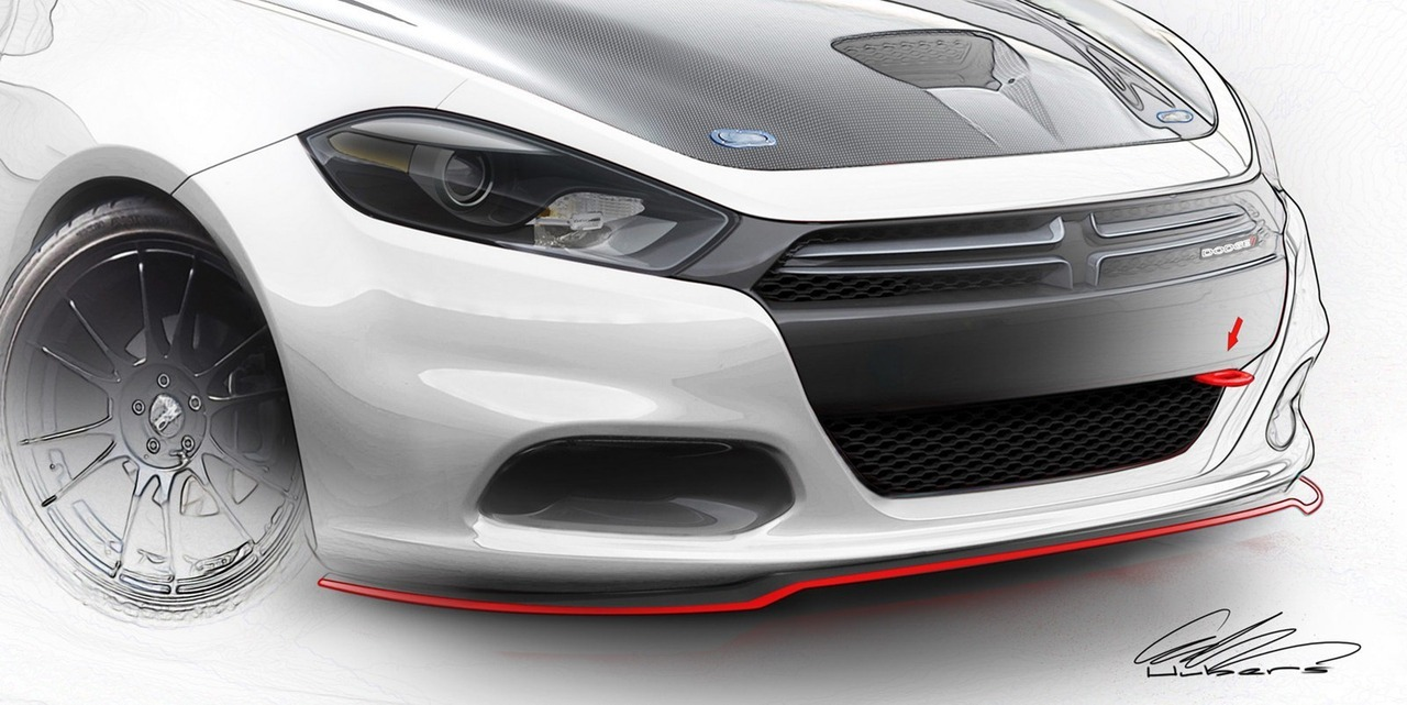 Preview! Mopar 2013 Dodge Dart (vía Carscoop)