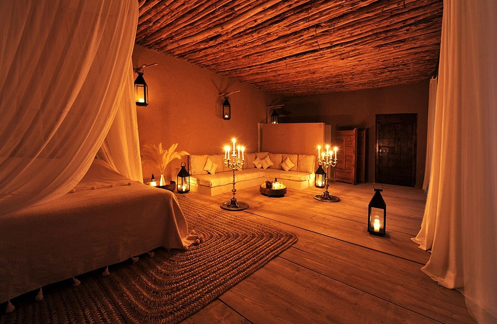 Marrakech riads with amazing interior design luxury for Small romantic hotels