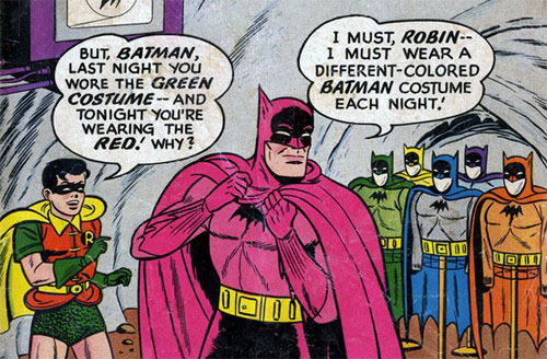 Batman…you're so silly!