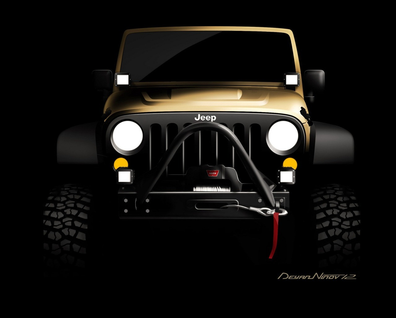 Preview! Mopar 2013 Jeep Wrangler (vía Carscoop)