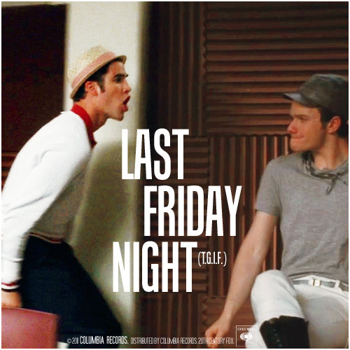 3x04 Pot O' Gold | Last Friday Night (T.G.I.F.) Requested Alternative Cover