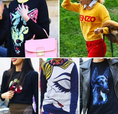 Motif Sweaters are dominating Paris Fash Week