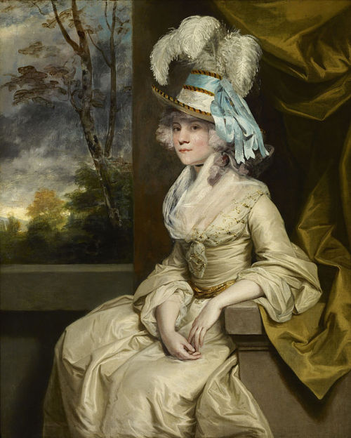 Elizabeth, Countess of Warwick by Sir Joshua Reynolds, ca 1780 England, the Frick Collection Giant image